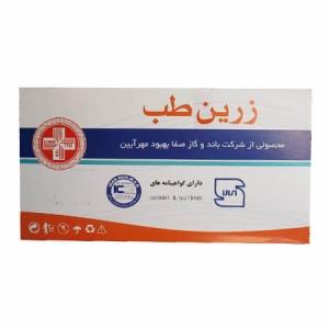 گاز استریل بهداشتی زرین طب بسته 150 عددی