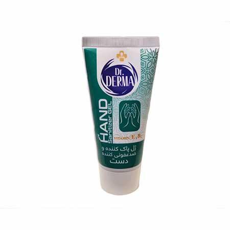 ژل پاک کننده و ضد عفونی کننده دست دکتر درما